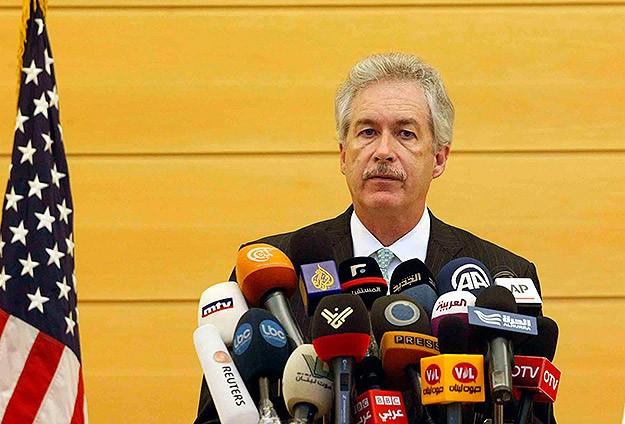 ABD Dışişleri Bakan Yardımcısı Burns Mısırda