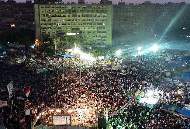 Mısırda Darbeye Karşı Milyonluk Gösteri (FOTO)