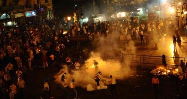Ramses Meydanında Sıcak Çatışma