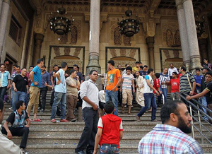 Camide Kuşatılan Mısırlılar Kurtarıldı