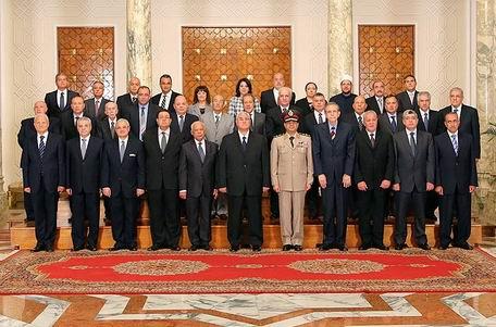 Mısırda Cunta Hükümeti Göreve Başladı