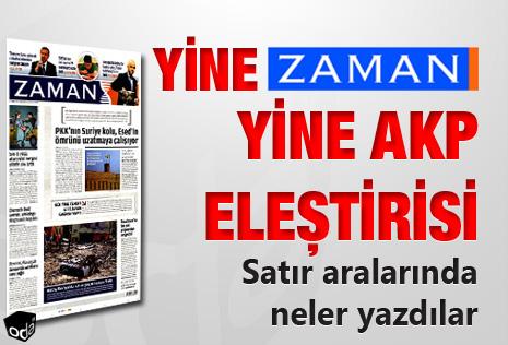 Odatv Zaman'daki AKP Eleştirilerini Topluyor