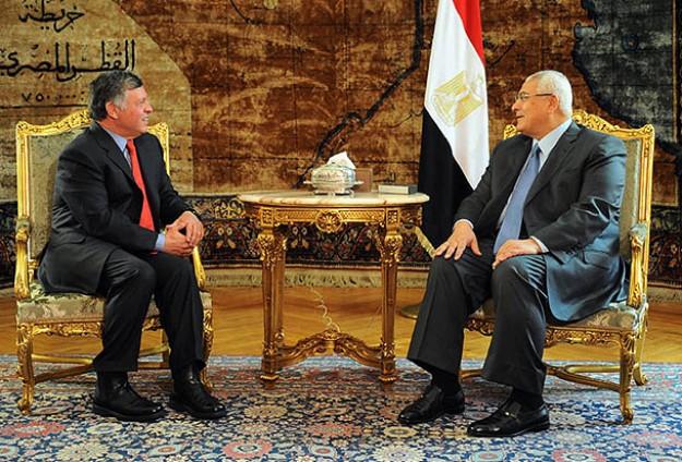 Ürdün Kralı 2. Abdullah Mısırı Ziyaret Etti