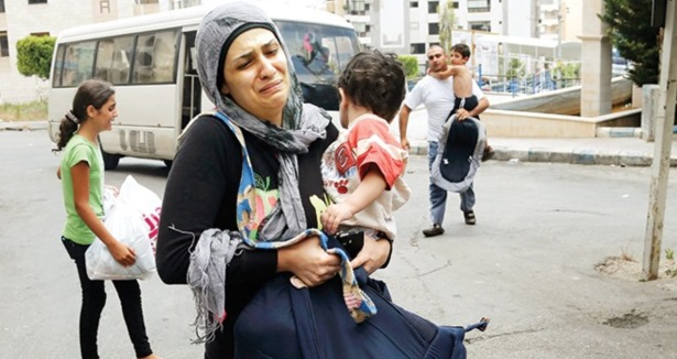Suriyenin Ebu Gureybi Adra Zindanı