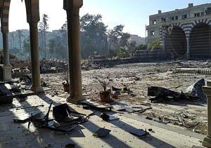Esed Güçleri Tarihî Camileri de Bombalıyor!