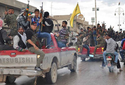 Suriye'de Esed-Hizbullah-PYD İttifakı