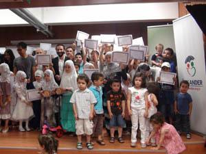 Muhacir Okullarında Sertifika Sevinci