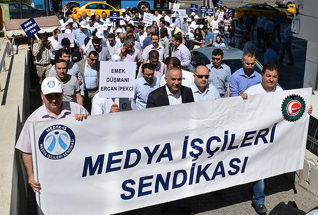 AA Çalışanlarından TGSye Protesto
