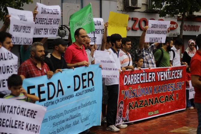 Kdz. Ereğlide Darbecilerin Katliamına Protesto