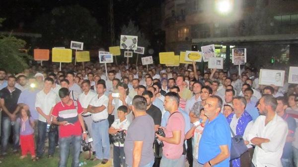 Siverekte Mısırdaki Katliam Protesto Edildi