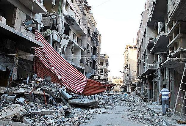 Suriyede Halidiye Bölgesindeki Çatışmalar