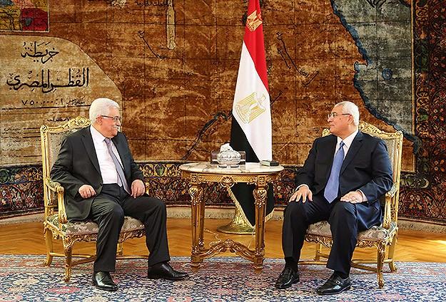 Mahmut Abbas Darbecilerle Görüşmek İçin Mısır'da