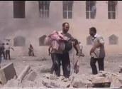 Esed Ordusu Halepte Cami Bombaladı (VİDEO)