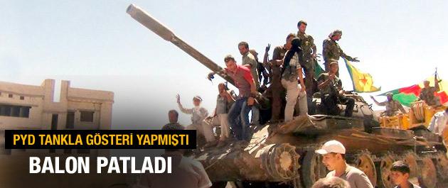 Rojava Devrimi İçin Hurda Tanklar Seferber Edildi