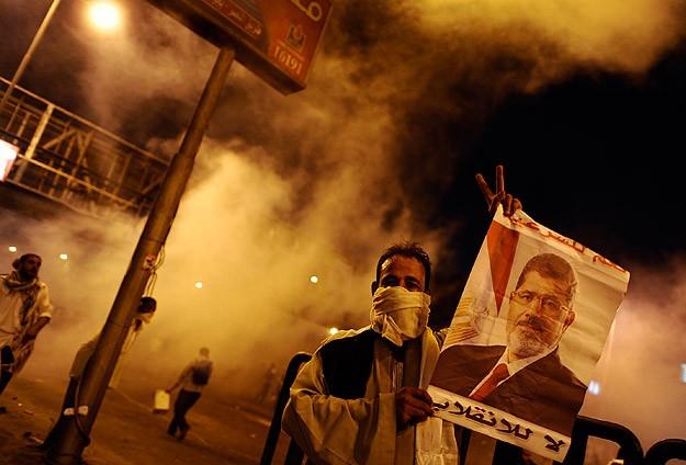 Mısırda Polis Müslümanlara Saldırdı: 100 Yaralı