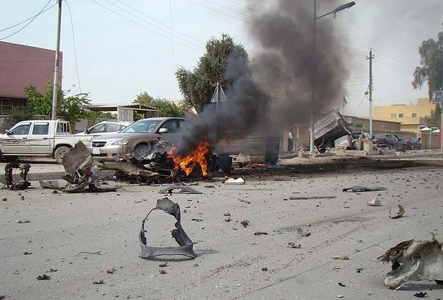 Irakta Askeri Konvoya Saldırı