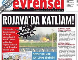 """""""Rojava""""da Katliam İzine Rastlayamadılar!"""