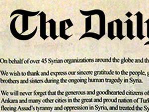 Suriyeli Muhaliflerden Türkiye Halkına Mektup