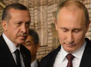 Putinden Erdoğana Red
