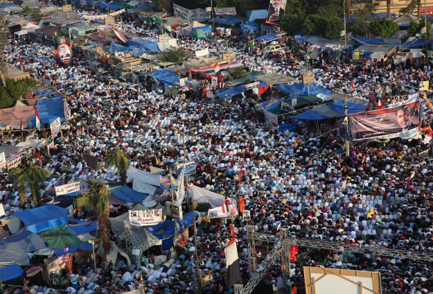 Mısırlılar Bayramı Adeviyye ve Nahdada Kutladı