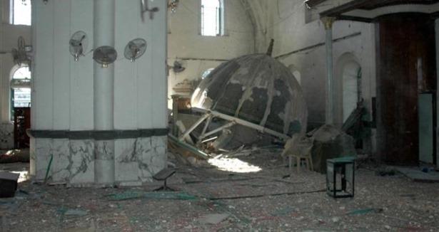 Esed Güçleri Humus'ta Cami Bombaladı