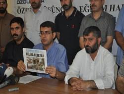 Diyarbakırda 49 Kurumdan Özgür-Dere Destek