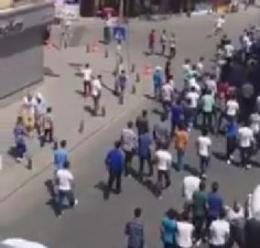 İstanbulda BDPliler Rojavalılara Saldırdı