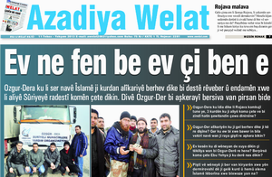 Azadiya Welat'ın Sorularına (İftiralarına) Cevabımız