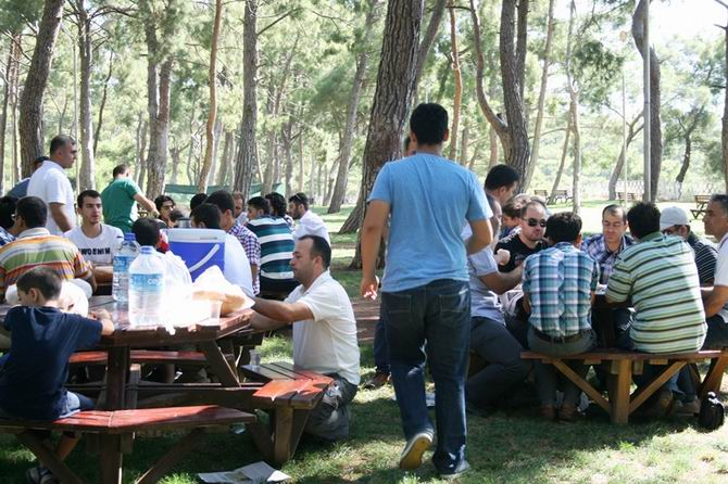 Özgür-Der Antalya'da Bayramlaşma Programı