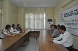 AK Parti'den Özgür-Der'e Geçmiş Olsun Ziyareti