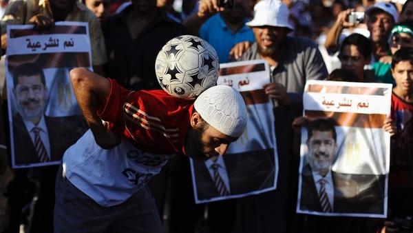 Direniş Meydanında Bu Kez Futbol Eylemi Vardı!