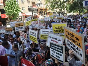 Özgür-Der'e Saldırılar Diyarbakır'da Protesto Edildi