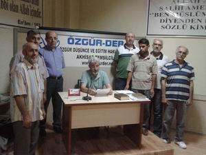 Akhisar Özgür-Der: Saldırılar Bizi Susturamaz!