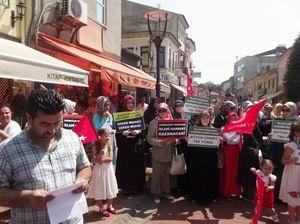 Bartın'da Mısır Katliamı Lanetlendi