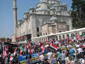 Mısır'daki Katliam Fatih'te Protesto Edildi (FOTO)
