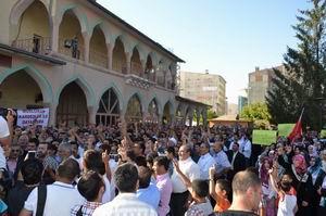 Mısırdaki Katliam Vanda Protesto Edildi