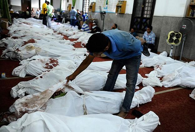 Darbecilere Göre Katliam Bilançosu: 525 Ölü