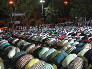 Saraçhanede Mısırla Kardeşlik Gecesi (FOTO)