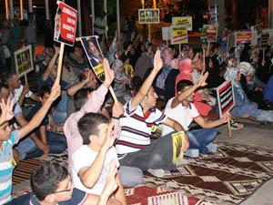 Antalyadan Mısır Direnişine Destek