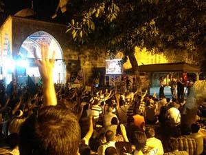 Mısırla Dayanışma Gecesi Antalyada Sürüyor