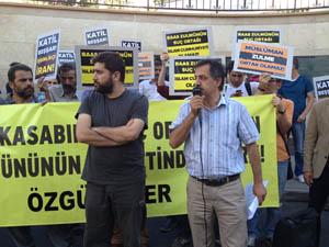 Ankarada Esedin İşbirlikçisi İrana Protesto