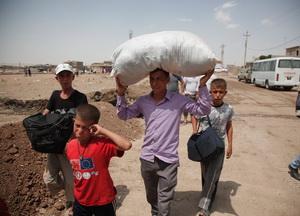 İHH, Suriye Kürtlerini Yalnız Bırakmadı