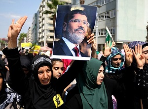 Türkiye Mısır ve Suriye İçin Ayakta