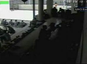 Camideki Patlama Anı Güvenlik Kamerasında