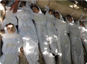Kimyasal Katliamın Filistinli Kurbanları