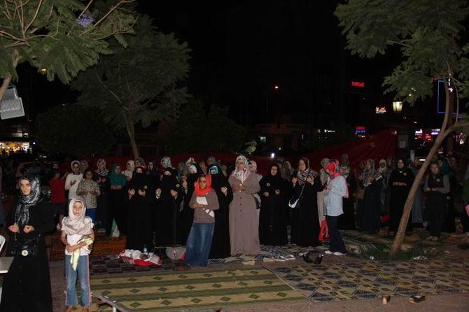 Adanada Adeviyye Nöbeti 8. Gün