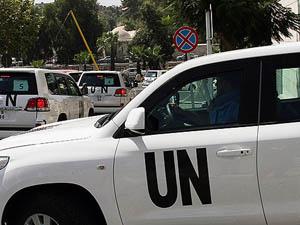 Suriyedeki BM Konvoyuna Sniperlı Saldırı