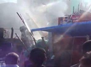 Adeviyyede Cesetler Ezilip Ateşe Verildi (VİDEO)