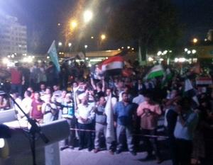 Ankara'da Adeviyye Nöbeti Devam Ediyor