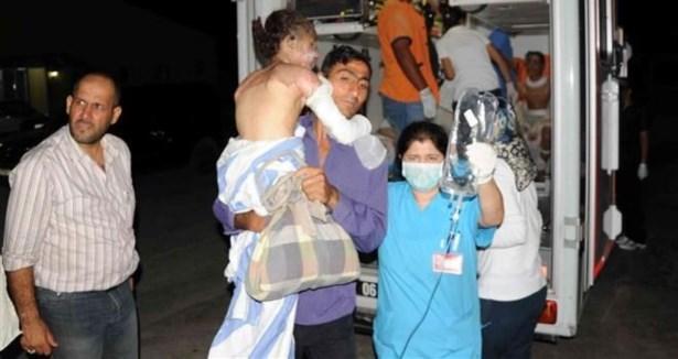 Halepe Fosfor Bombalı Saldırı: 10 Şehit